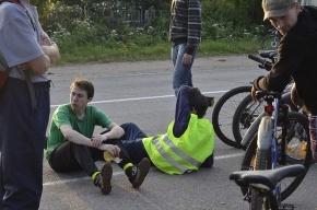 Милиция закрыла городской велопробег?