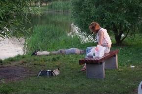 В пруду Полюстровского парка искали утопленника