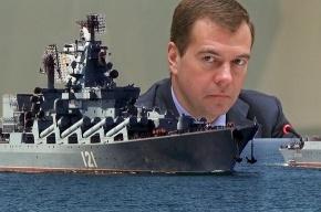 Медведев – Сердюкову: «По закону военного времени паникеров расстреливали»