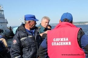 МЧС: Фоторепортаж с места катастрофы теплохода «Булгария»