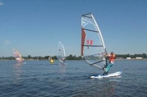 В Приморском районе 23-29 июля – соревнования по виндсерфингу