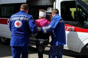 В Колпино при ДТП пострадали подростки