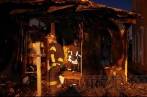 На Косыгина ночью горела церковь