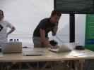 Фоторепортаж: «Веб-скульптуры, самовоспроизводящийся принтер и смерть через PowerPoint»