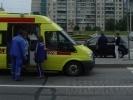 На Комендантском проспекте сбили женщину: Фоторепортаж