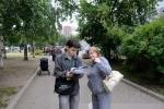 Муниципальные выборы: в «Петровском» очереди, на «Красненькой речке» - гуляния: Фоторепортаж