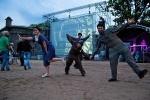 День российского кинематографа на пляже Петропавловской крепости: Фоторепортаж