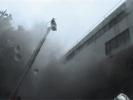 При пожаре в Петербурге погиб молодой сотрудник МЧС: Фоторепортаж