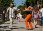 Фоторепортаж: «Танцующий Петербург под открытым небом»