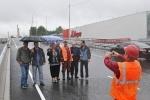 В Петербурге открыли первую часть Коломяжского путепровода: Фоторепортаж