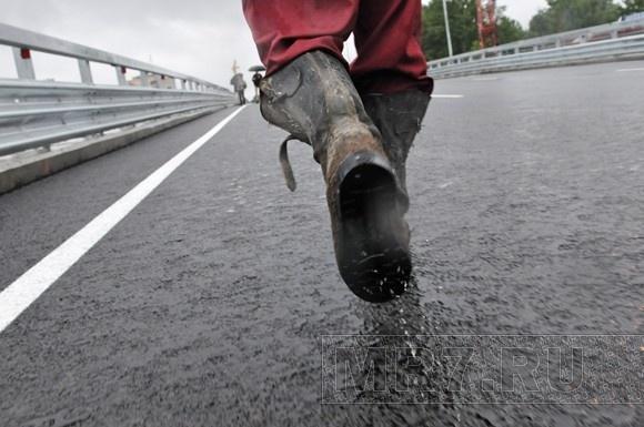 В Петербурге открыли первую часть Коломяжского путепровода: Фото