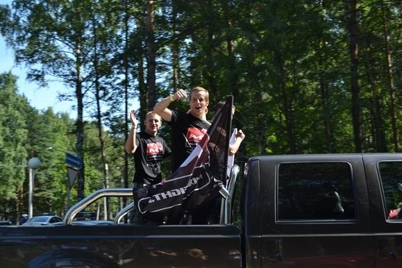 В Ольгино прошел фестиваль байкеров: Фото