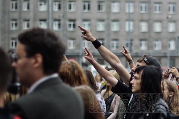 «Петербургские родители» провели благотворительный рок-концерт: Фото