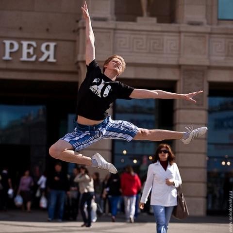 Танцующий Петербург под открытым небом: Фото