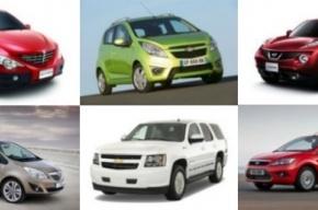 17 самых популярных автоновинок 2011 года