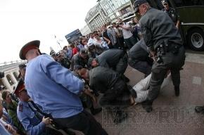 Продолжается суд над участником «Стратегии-31», якобы ударившим полицейского