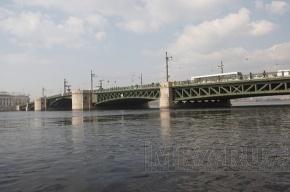 Неизвестный прыгал с Дворцового моста