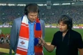 Набирает известность околоспортивный скандал с комментатором Губерниевым