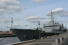 В Петербург прибыл ирландский военный корабль