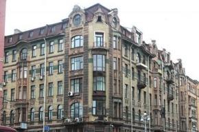 На Невском проспекте горел исторический дом