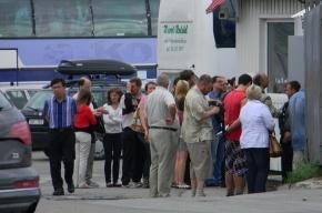 Туристы из России застряли на эстонской границе на 26 часов