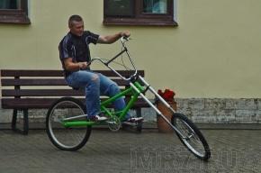 Изобретатель велосипеда-трансформера «Кузнечик» даст покататься каждому