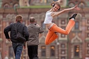 Танцующий Петербург под открытым небом