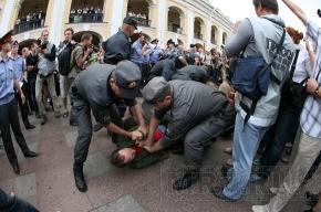 Инцидент с полицейским на «Стратегии 31» рассмотрят в Следственном комитете