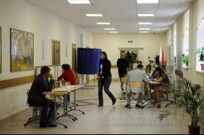 Муниципальные выборы в Петербурге завершены, идет подсчет голосов