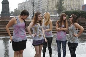 В Москве прошел финал акции «Порву за Путина»