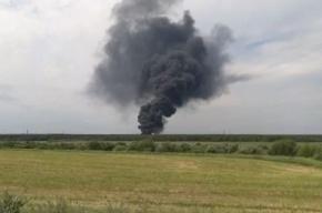 В результате пожара на полигоне «Красный бор» в воздух попали 18 тонн загрязняющих веществ