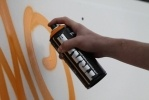 Фоторепортаж: «На Биржевой площади рисовали «грамотное граффити»»