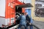 Петербургские пожарные продемонстрировали свое мастерство: Фоторепортаж