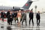 Фоторепортаж: «Датская королева прилетела в Петербург (фото)»