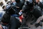 Фоторепортаж: «Полиция: на вчерашних акциях в Петербурге задержаны 50 человек»