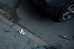 В Приморском районе столкнулись две иномарки: Фоторепортаж