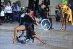 Танцоры на колясках разыграли «Кубок Континентов»: Фоторепортаж