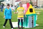 Фоторепортаж: «Городок из картонных домиков раскинулся в Новой Голландии»