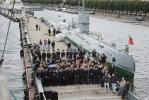 «Мир» пришвартовался у набережной Лейтенанта Шмидта: Фоторепортаж