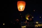 Фоторепортаж: «Вечернее небо Петербурга раскрасили цветные горящие фонарики»