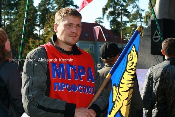 Во Всеволожске митинговали рабочие и ветераны: Фото