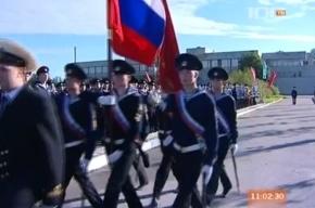 Больше 10 курсантов потеряли сознание во время церемонии под Петербургом