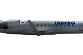 У сибирского самолета перегрелся двигатель во время полета
