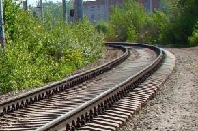 Поезд сошел с рельсов из-за хулиганов