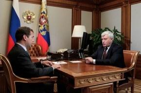 Полтавченко понравилось решение о выдвижении Путина