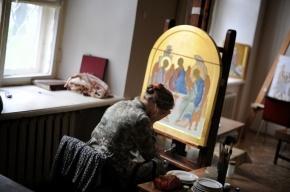 Как пишутся иконы в Петербурге