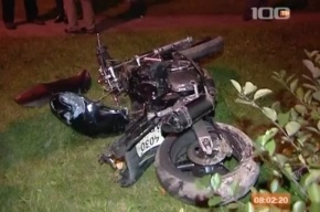 В Петербурге мотоциклист сбил пешехода: оба погибли