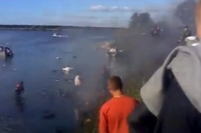 В авиакатастрофе под Ярославлем выжили форвард «Локомотива» и бортинженер лайнера