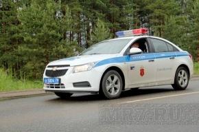 Анархисты заявили о сожжении машины полиции в Петербурге