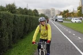 В Купчино открыли новую велодорожку